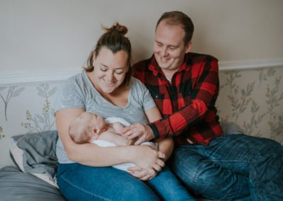 family newborn shoot