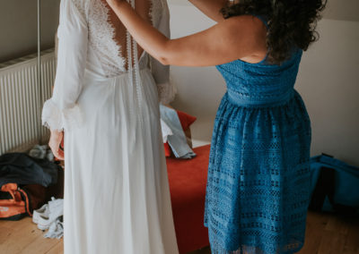 Bride Prep at home, East Sussex