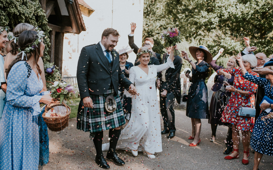 A Back Garden wedding in East Sussex- Alex and Eliza