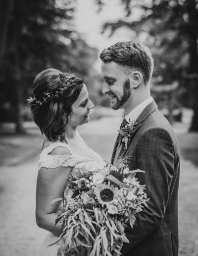 Rachel and Ben got married at Oxon Hoath