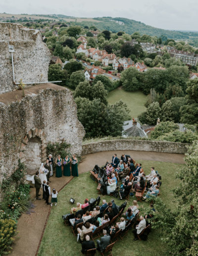 Lewes Castle views
