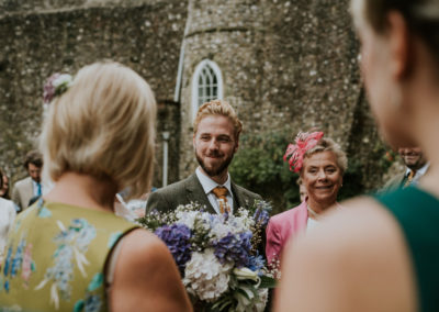 Groom reaction at Lewes Castle