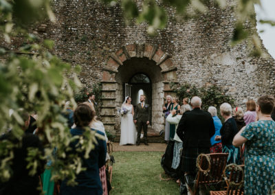 Ceremony views at Lewes Castle